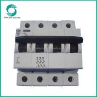 UL approval XDX1 series 230V 415V 4 pole 20 amp electrical miniature circuit breaker price