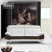 Simple design used leather ssofa furniture and price
