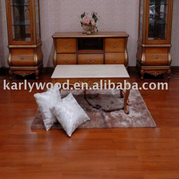 High Quality Burma Teak Smooth Solid Wood Flooring