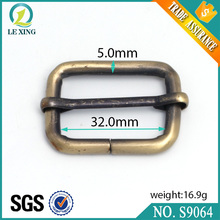 Guangzhou wholesale personalized adjustable bag strap metal buckle