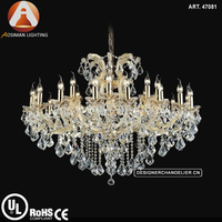 24 Light China Maria Theresa Chandelier