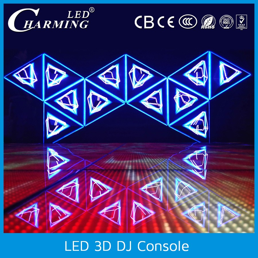 full color led display screen video dj table