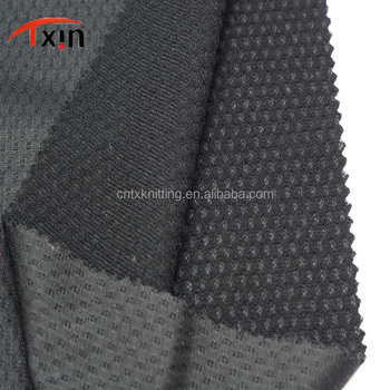 manufacture 100% polyester honeycomb brushed fabric for clothes,shrink resistant fabric