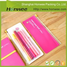 promotional clear plastic pencil case for kids