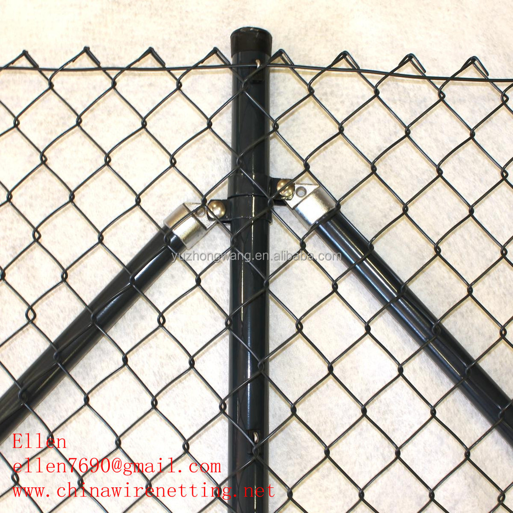 1mx30m 50mmx50mm Green Square Chain Link Fence 1/2'',1'',3/4'',2''