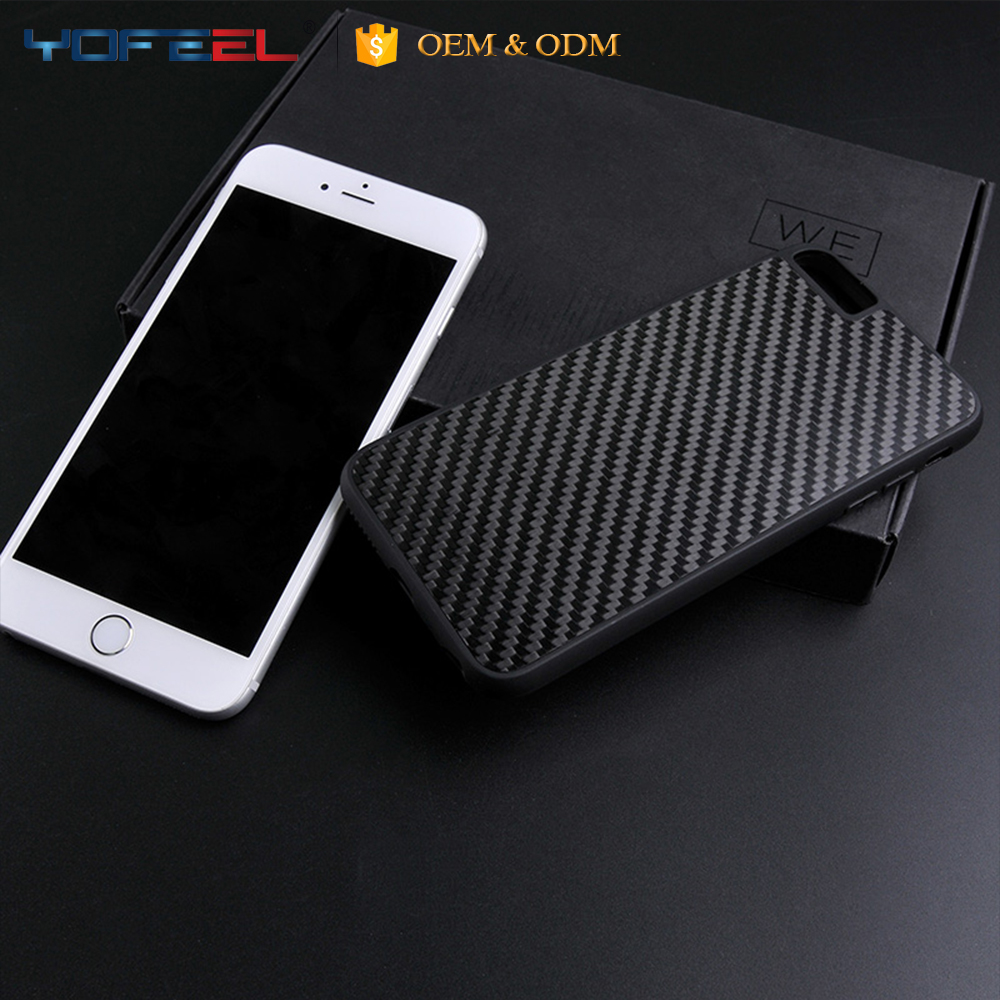 Carbon fibre mobile phone case, mobile accessories, mobile phone accessories for Iphone 6
