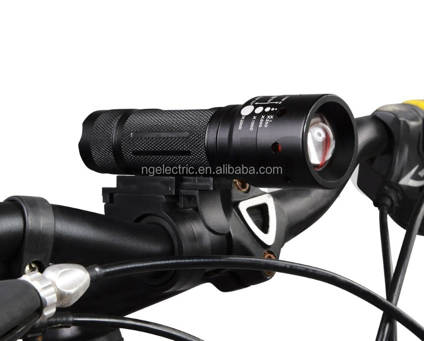 2017 160 Lumens 3W LED Bike light with Clip
