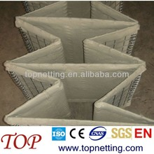 Hebei BV Certificated maufactory&exporter military wall Hesco Bastion Concertainer