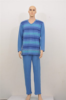 OEM supply type soft nightgown suit for men in low price on sell