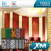 Product Import From China Fireproof 3D Carved High Gloss Wall Panels