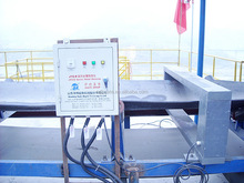 Industrial conveyor belt metal detector for coal, mining, wood and cement