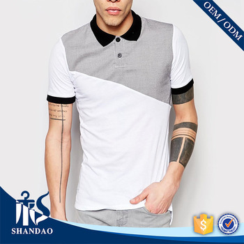 2016 Guangzhou shandao supplier casual summer 180g 100% egyptian cotton polo shirts
