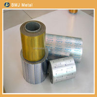 Blister Aluminium Foil for Medical Packaging