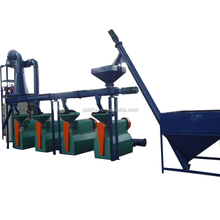 Rubber Powder Grinding Equipment For Reclaim Used tire