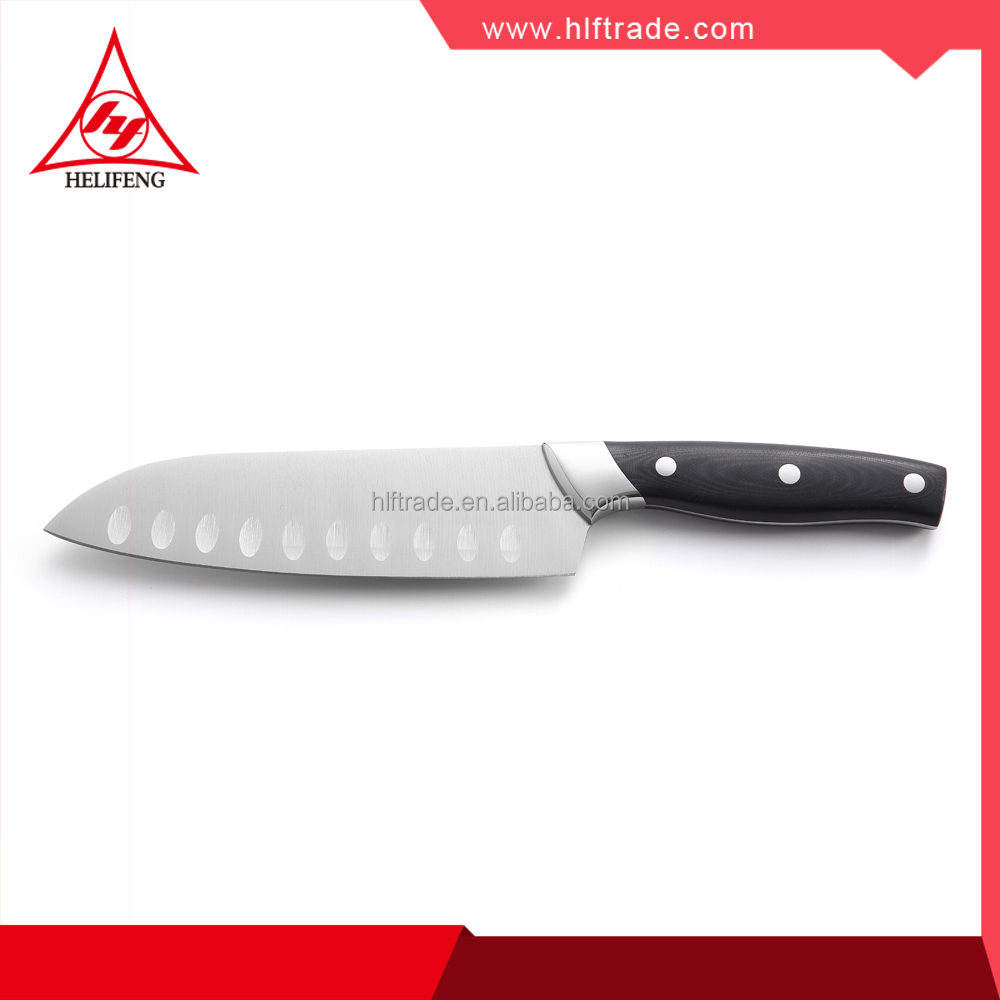 Germany <strong>design</strong> comfortable handle Forged chef knife Santoku Knife