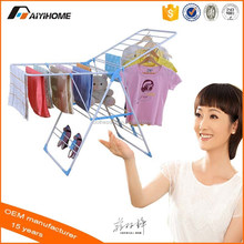 Folding Modern PVC Pipe wing Clothes Drying rack coat rack