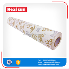Chinese character style pvc self adhesive wallpaper