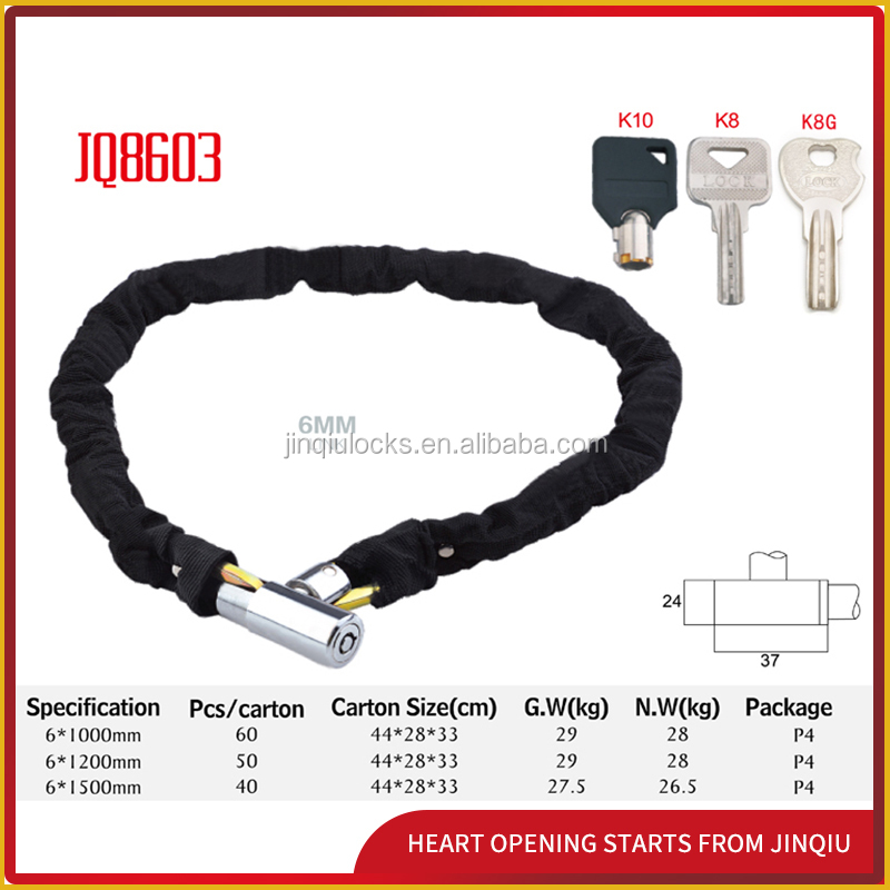 JQ8603 New fashion steering lock motorcycle for sale