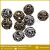 Wholesale Hollow Design Fashion Charms European Metal Beads For Necklace