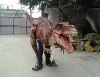 animated dinosaur costume