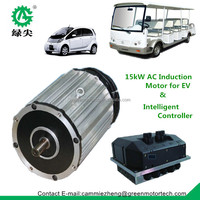 15kw ac induction motor for electric vehicle speed 100km/h car motor