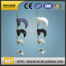 professional Concrete Nail PE wall cable Clip/Clamp