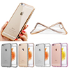 New highlight soft TPU case for iPhone 6s rose gold mobile phone