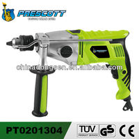 Aluminum housing two speed impact drill