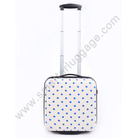 ABS +PC material hardshell luggage with cute design
