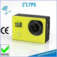 2.0 inch screen small size sports camera wifi very small camera