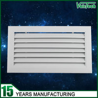 custom size air conditioner fixed type air return wall ventilation grilles