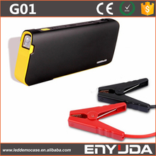 Powerful 600A portable car jump starter mini multi-functional power bank 18000mah capacity car jump starter