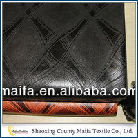 Most popular Shaoxing supplier Cheap polyester african upholstery fabric