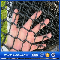 Brand new cheap vinyl coated tension wire chain link fence
