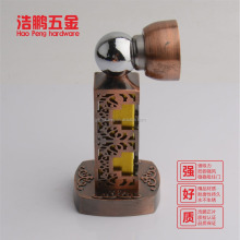 Top grade delicate classical zinc alloy wooden door stops