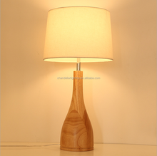 Nordic style contemporary simple household solid wood table lamp