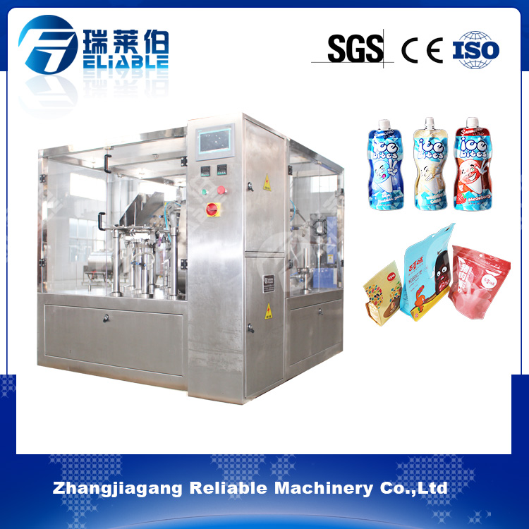 Stand Up Pouch Filling Machine For Oil China High Quality/Auto Filling And Sealing Machine