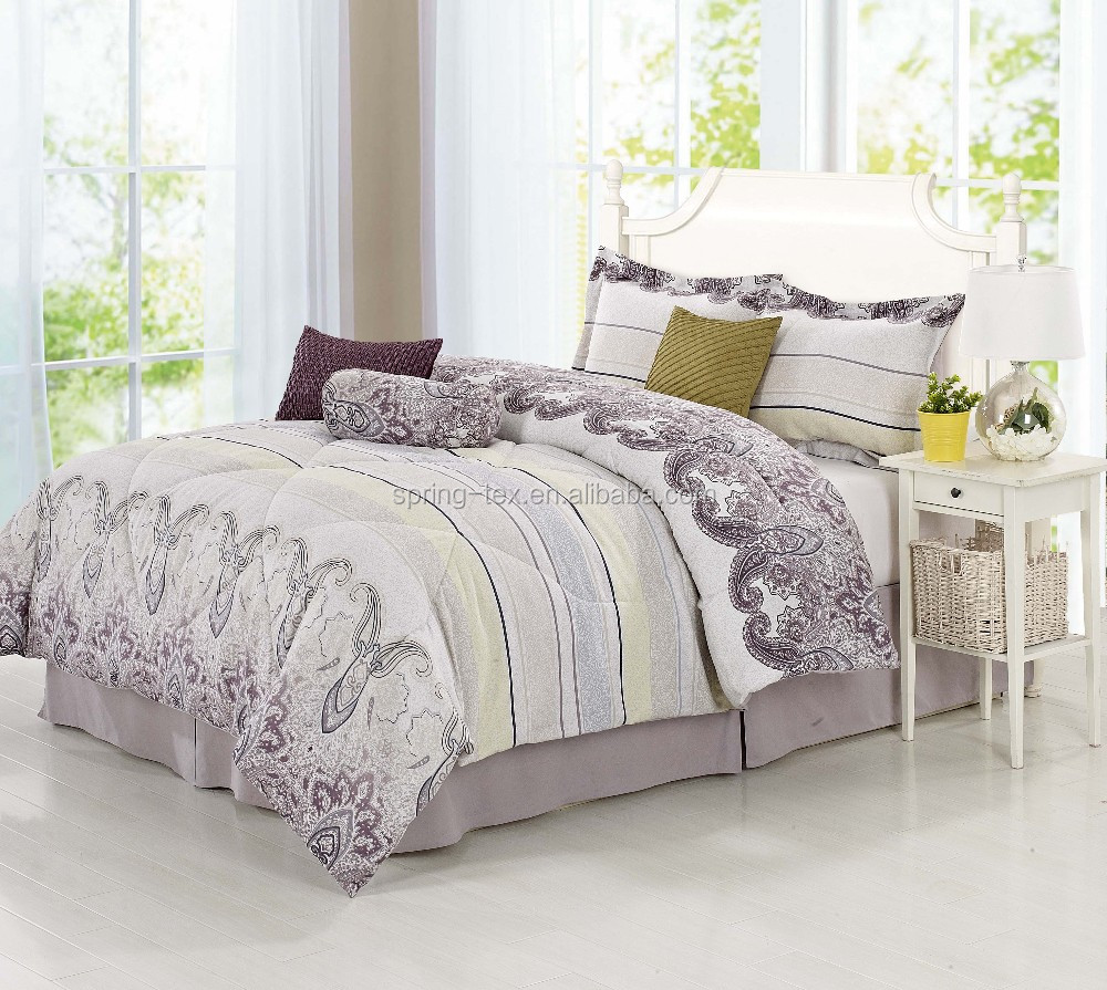 2016 100 Polyester Bedding Comforter Set With Matching Curtains Buy Comforter Set Comforter
