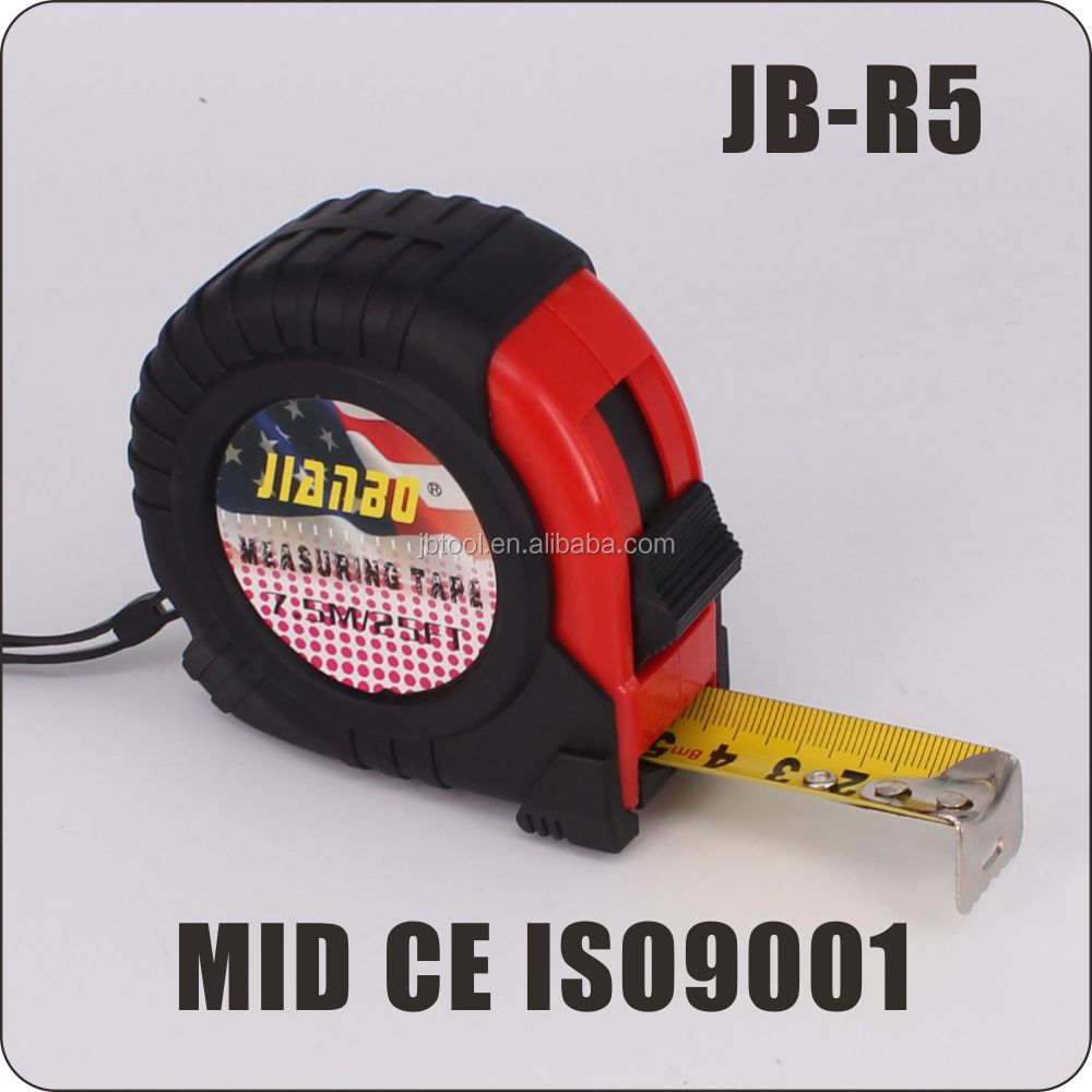 factory Co-molded 3m 5m 8m 10m rubber coated digital Tape <strong>measures</strong>
