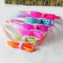 Wholesale 2014 kids hair accessories baby plastic headband