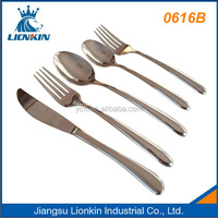 0616B restaurant spoon fork knife sets