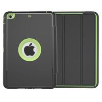 New Slip Resistance Kidproof Leather Flip Smart Cover For iPad mini 3