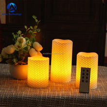 3 PCS LED Flameless Battery Operated Flickering led candle light