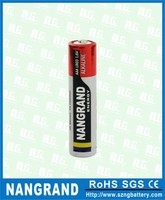 Power capacity 1.5v aaa size alkaline dry battery