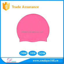 Novelty Silicone swimming cap for long hair