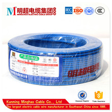 3X6mm2(A) CQC IEC ISO CCC certificated environmental friendly PVC electric wire