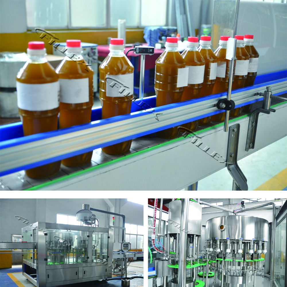 China manufacter automatic big bottle edible oil cooking oil filling machine