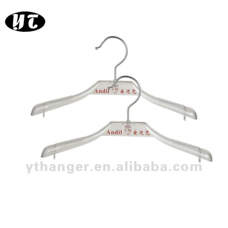 AL-288 transparent cheap kids clothed hangers