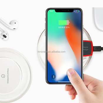 2018 Factory Direct Plastic ABS Long Distance Qi Wireless Charger for iphone X