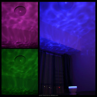 Ocean Wave LED Night Light Projector with Speaker
